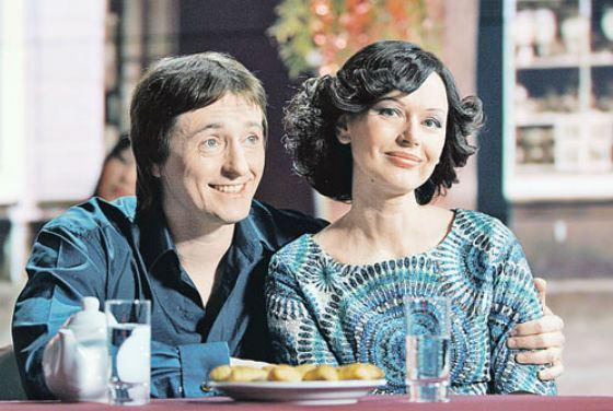 Сергей Безруков с женой Ириной Безруковой