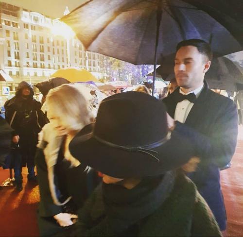 Дмитрий Шепелев и Екатерина Тулупова прибыли на вручение премии ТЭФИ-2018