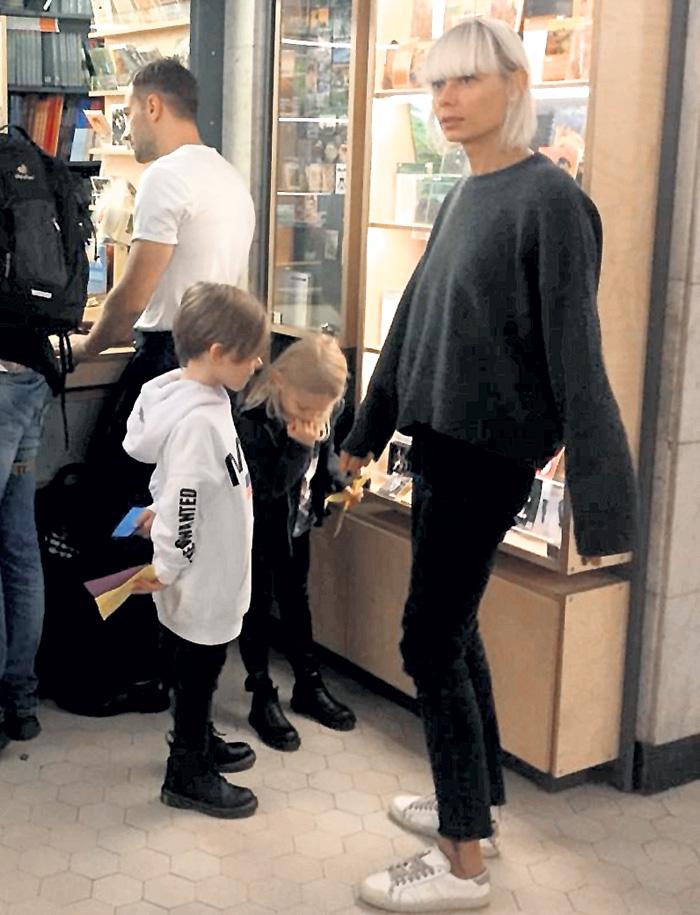 Шепелев и Тулупова с детьми в музее, ноябрь 2018г.