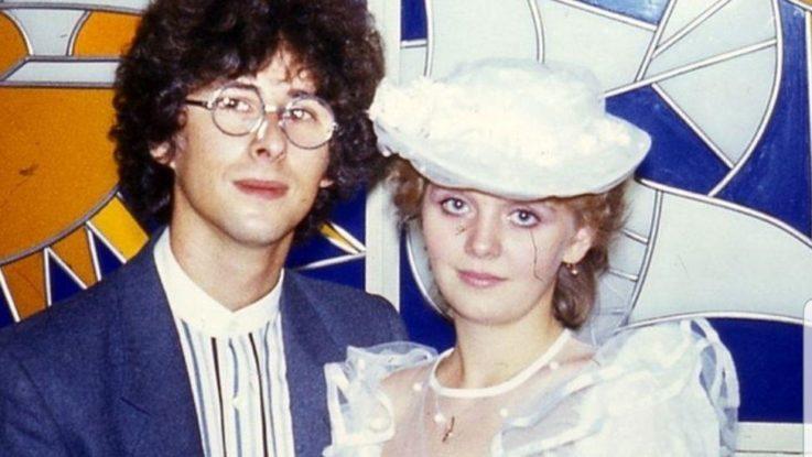 свадебное фото Валерии и ее мужа Леонида Ярошевского