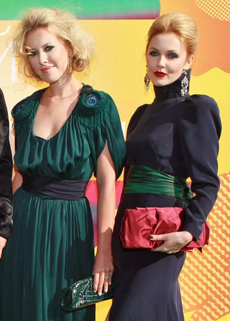 Ксения и Екатерина на открытии Московского кинофестиваля, 2009 г.