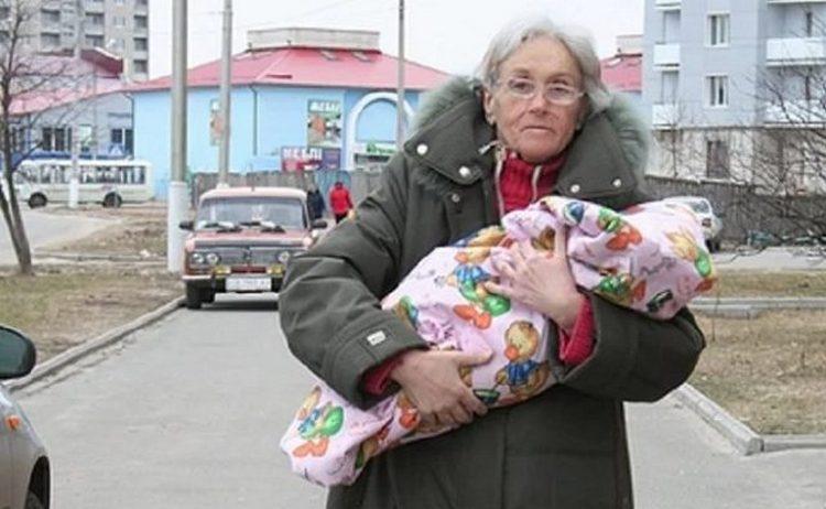 Самая пожилая мама в Украине Валентина Подвербная