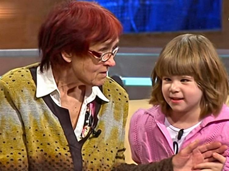 Валентина и Анна-Мария на телепередаче «Один за всех»