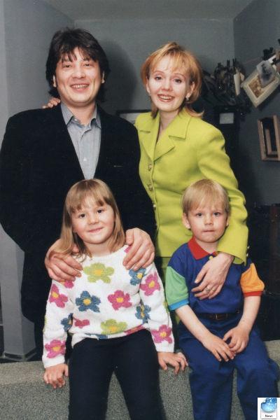 шульгин и валерия с сыном и дочерью