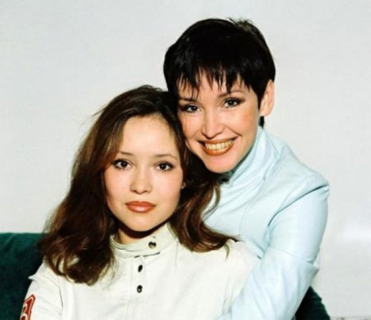 Анна Самохина с дочерью