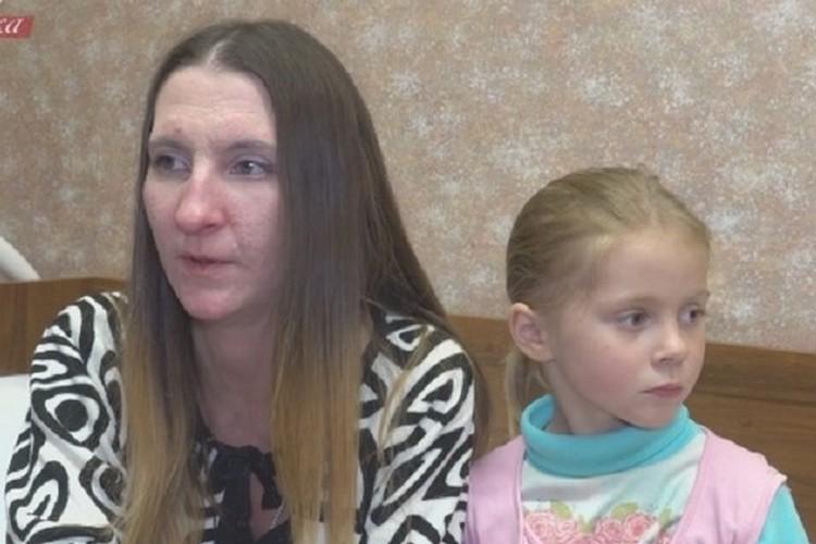 Людмила с дочерью Мариной, внучкой Сергея Лемоха