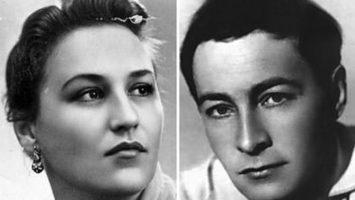 Нонна Мордюкова и Вячеслав Тихонов