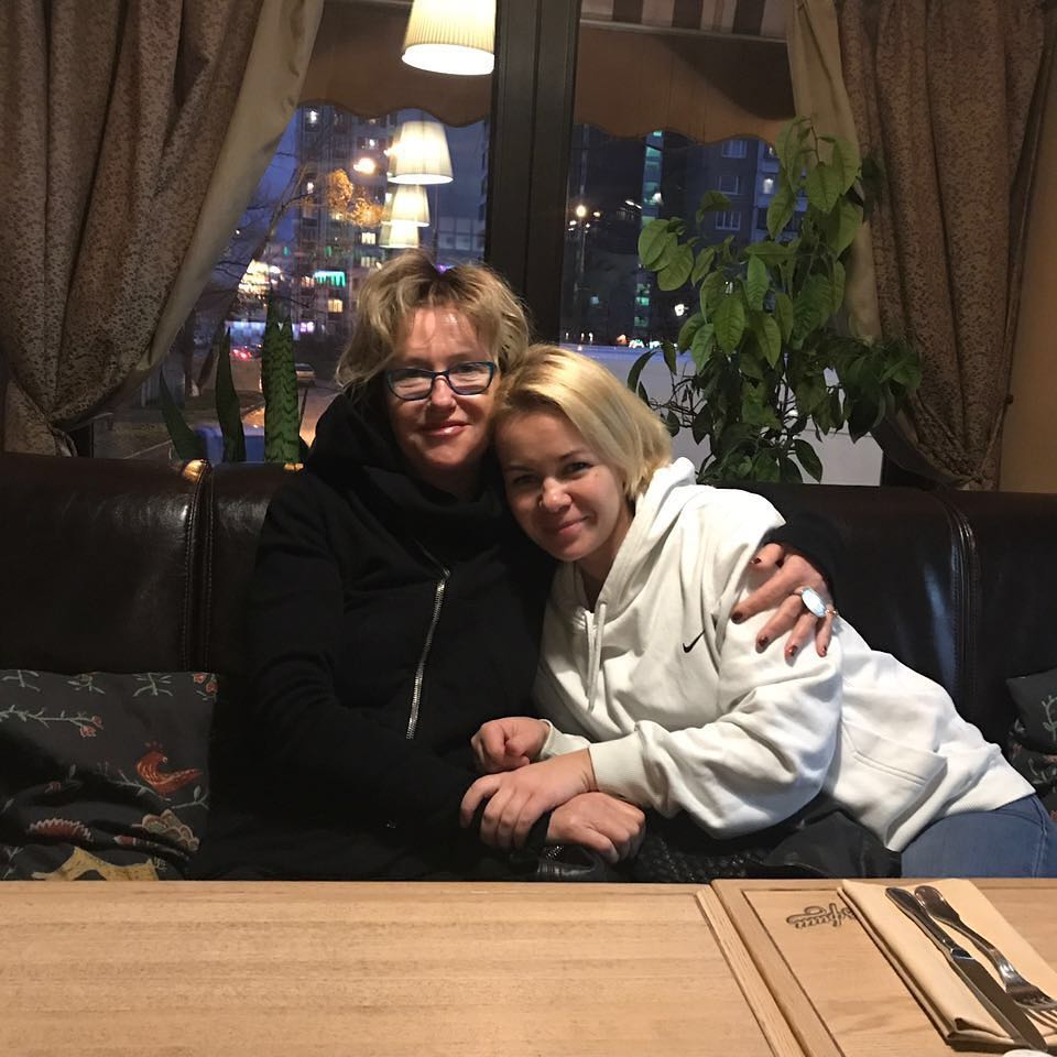 Ирина Розанова и племянница Анна