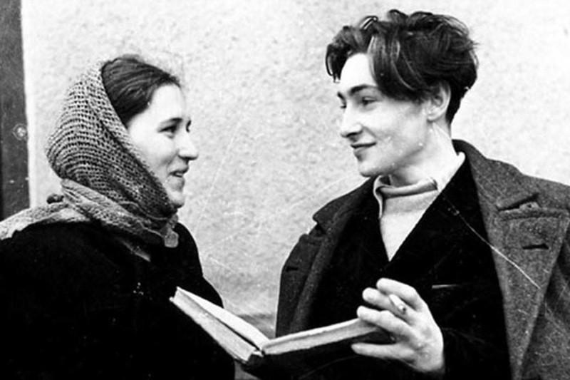 Мордюкова и Тихонов, 1950 г.