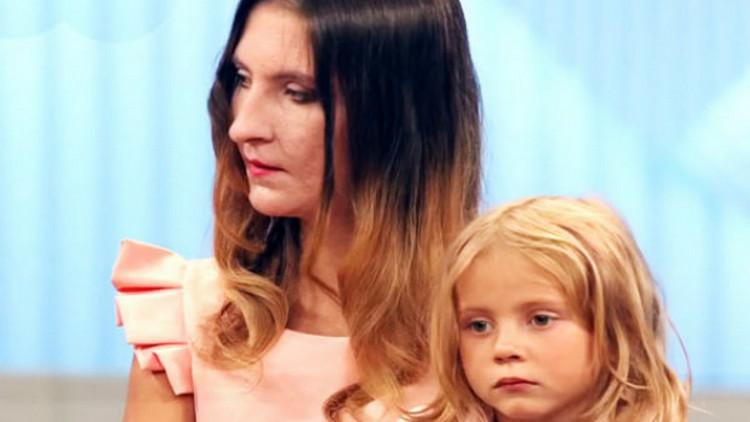 Людмила с Мариной на передаче «Пусть говорят», 2018 г.