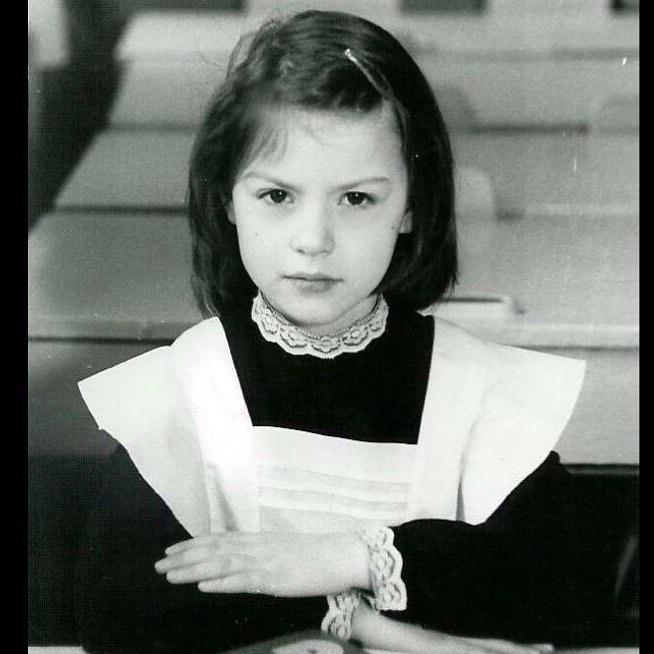 Ирина Лачина в детстве
