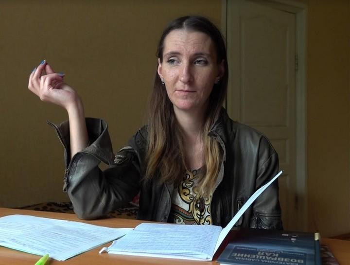 Людмила в центре реабилитации