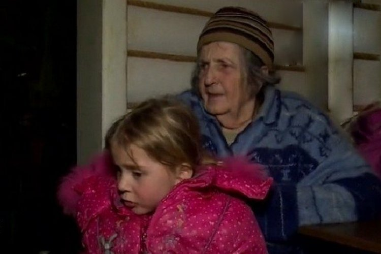 Марина с прабабушкой Талиной Ивановной