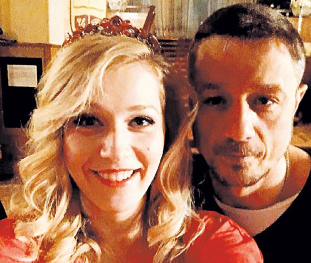 Алексей и Карина Андоленко встречают 2017 год