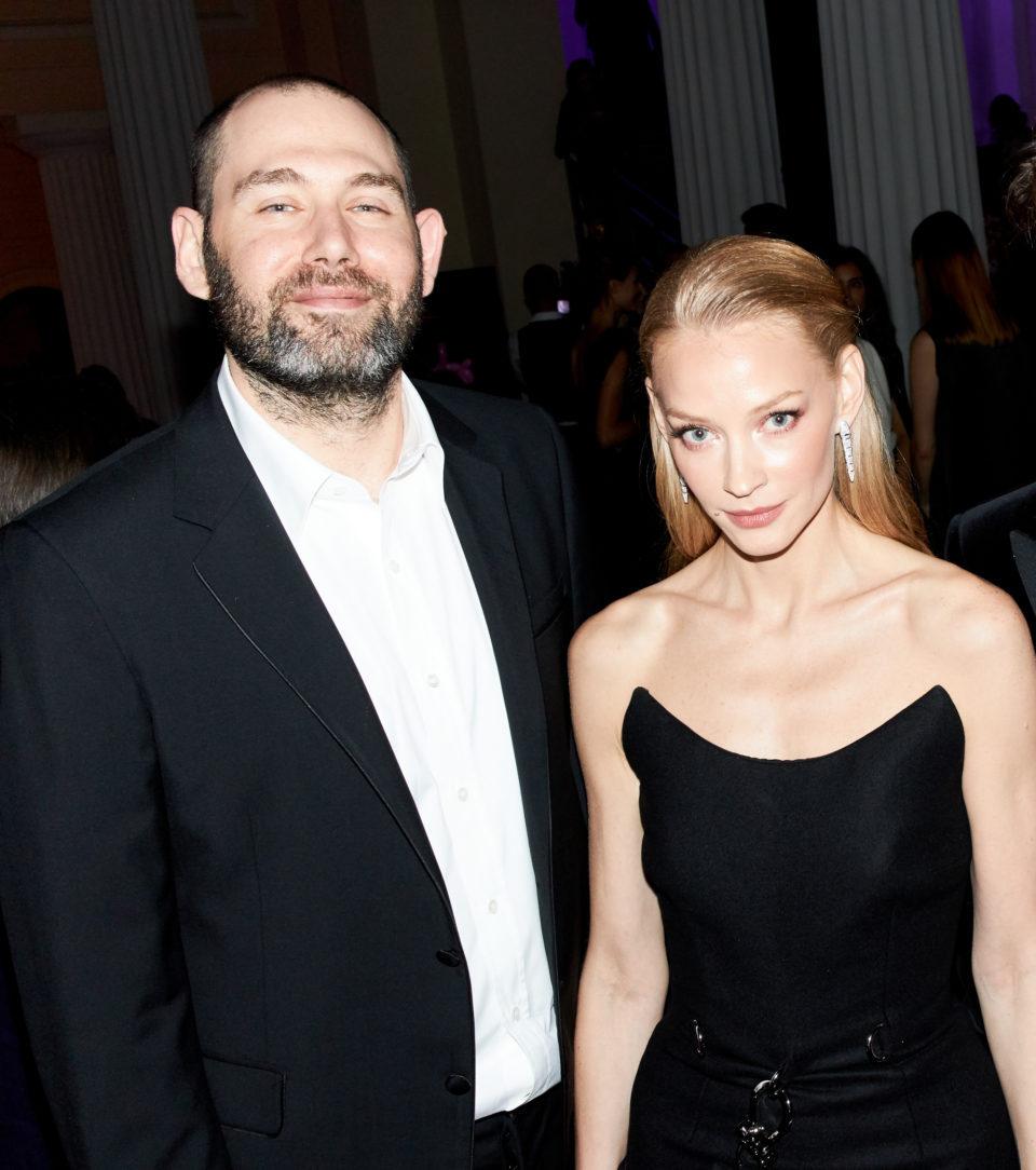 Семен и Светлана на церемонии Человек года GQ, сентябрь 2019