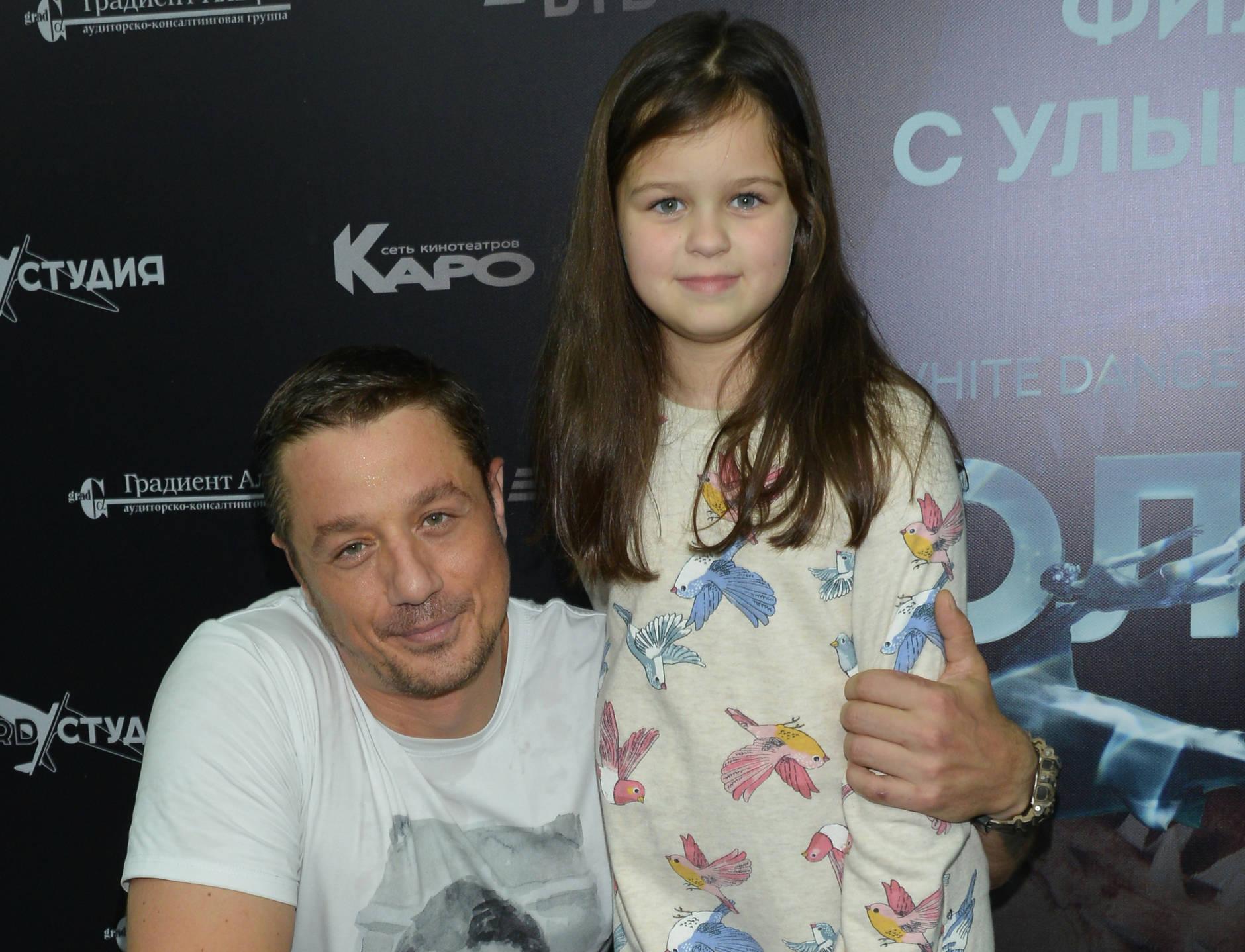 Алексей Макаров с дочерью Варварой