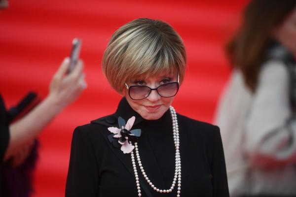 Вера Алентова на красной дорожке ММКФ, апрель 2019