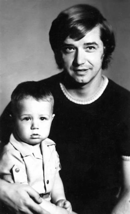Валерий Макаров с сыном Алексеем