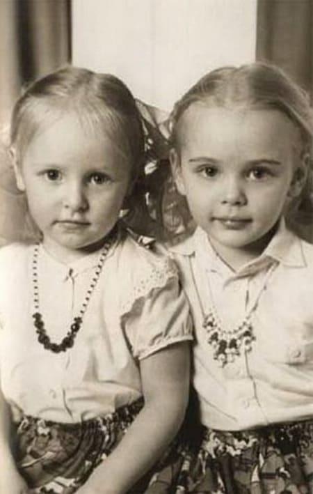 Дочери Путина в детстве