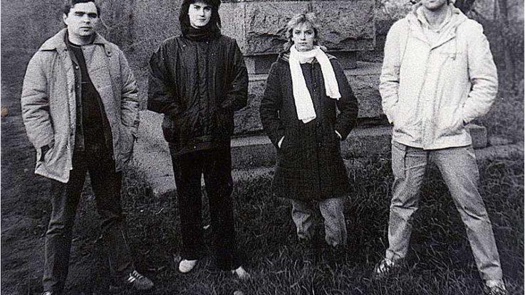Фото 1. Группа Мираж в начале пути, 1987 г.
