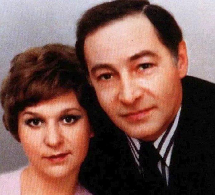 Вячеслав Тихонов со второй женой Тамарой