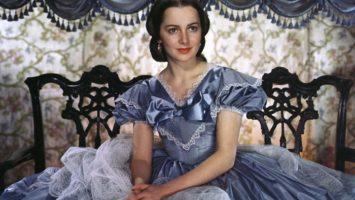 """Мелани Уилкс - звездная роль Оливии де Хэвилленд в """"Унесенных ветром"""", 1939 г."""