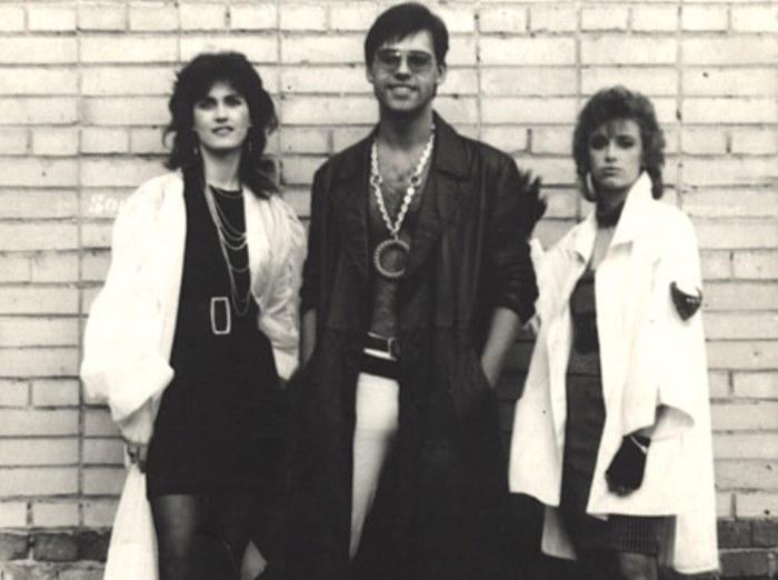Светлана Разина, Андрей Летягин и Наталья Гулькина, 1987 г.
