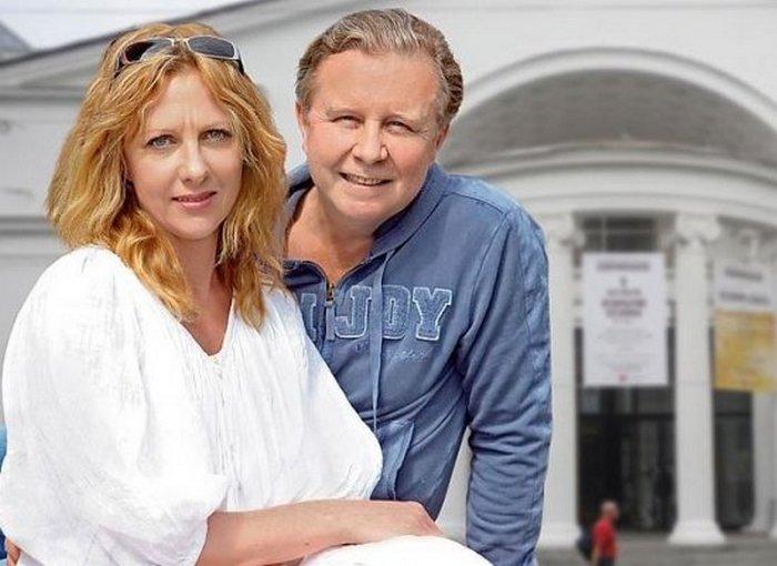 Елена Яковлева и муж Валерий Шальных