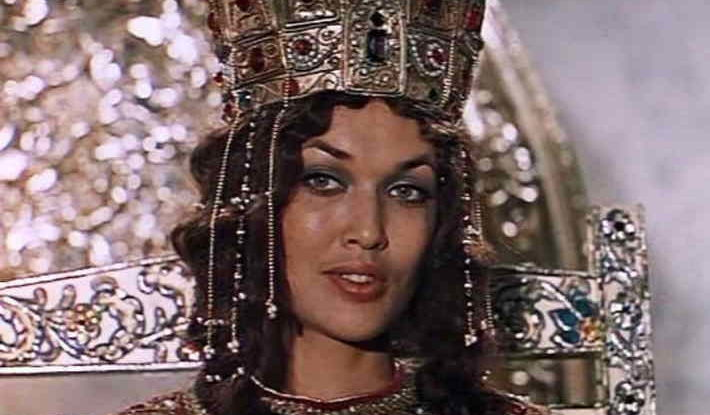 Византийская царица из фильма «Василий Буслаев», 1982 г.