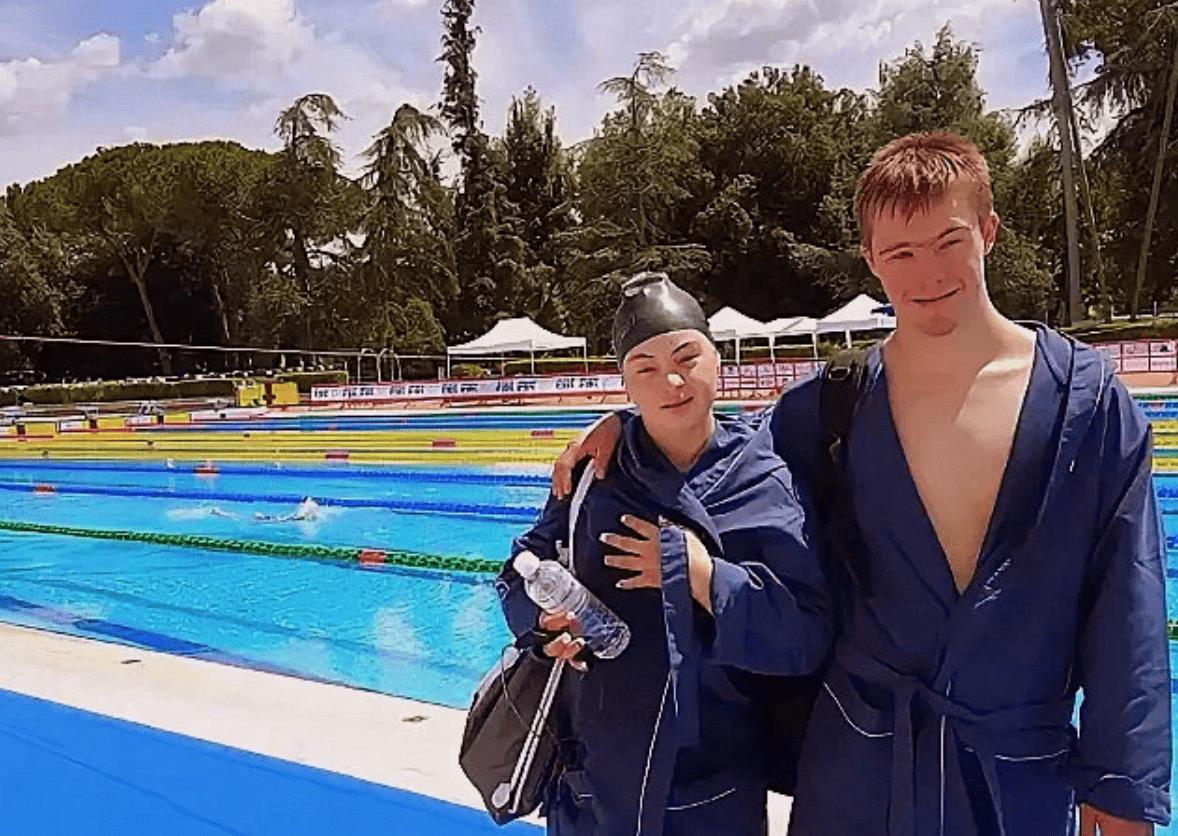 Глеб Дьяченко и Анастасия Петрова