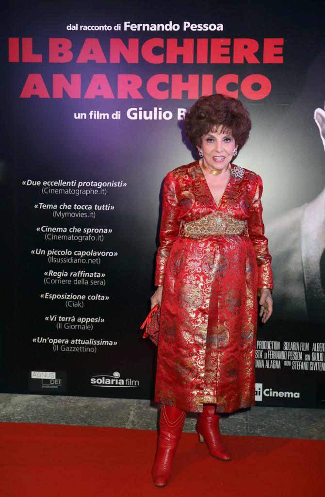 На премьере фильма «Il Banchiere Anarchico», октябрь 2018 г.