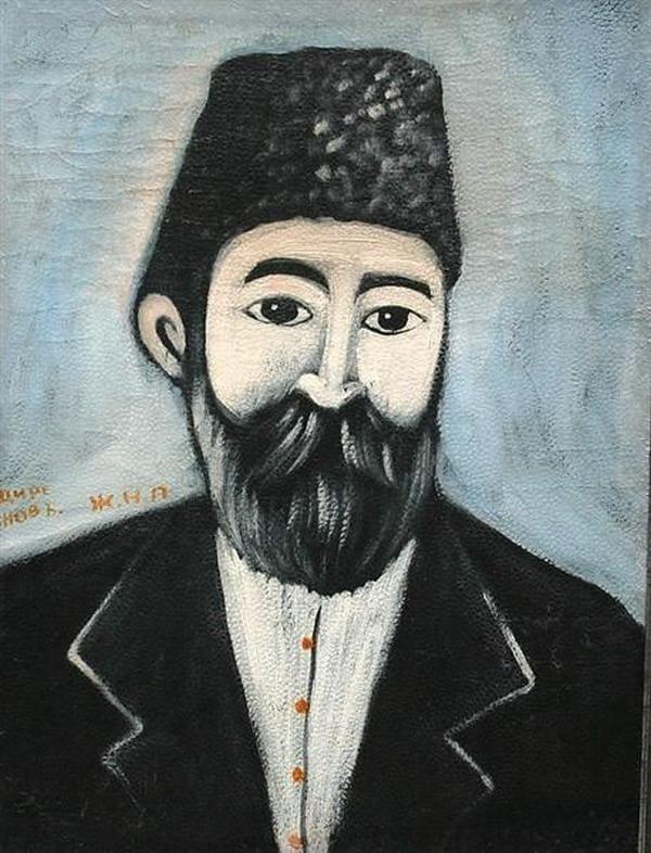 Автопортрет Пиросмани, около 1900 г.
