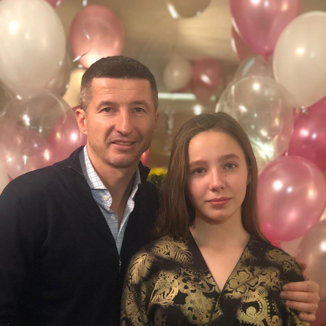 Вера Алдонина с отцом