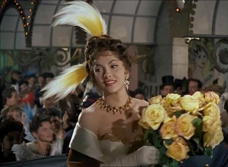 Кадр из фильма Самая красивая женщина в мире, 1956 г.