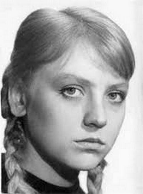 Светлана Крючкова в студенческие годы