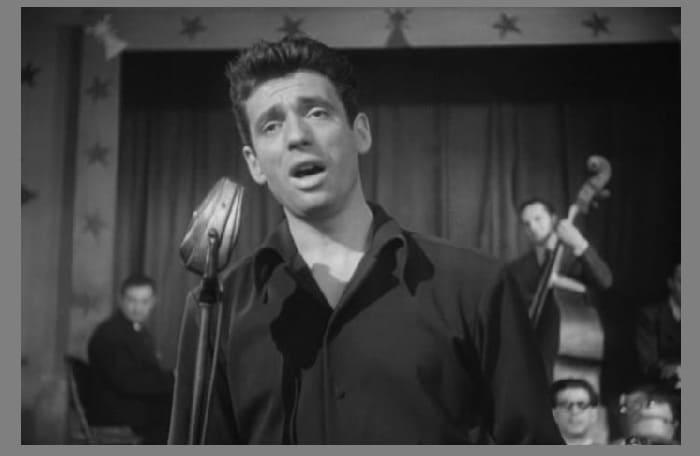 Ив Монтан на сцене, 1950 г.
