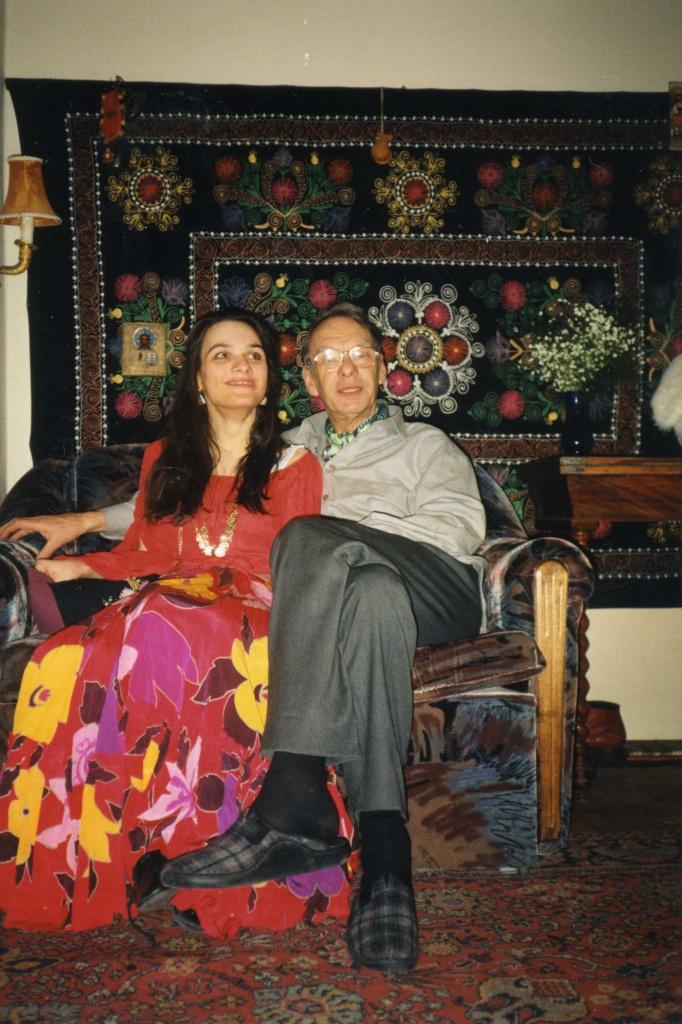Мария Баталова с отцом