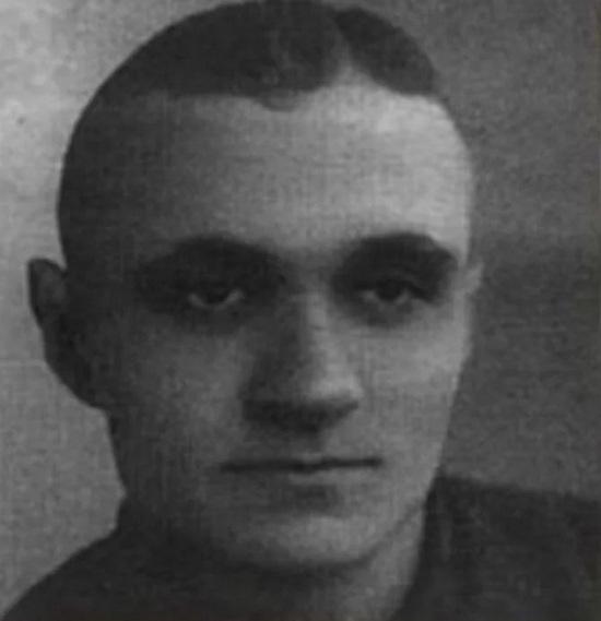 Георгий Милляр в молодости