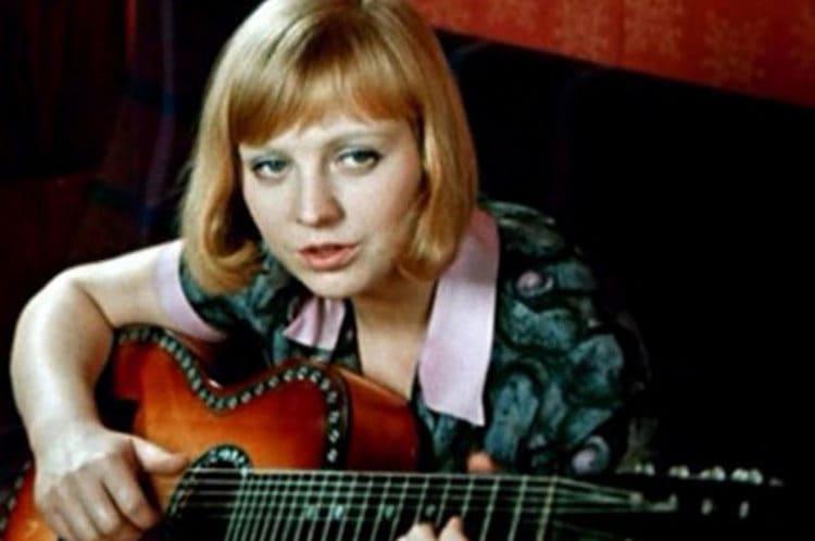 Светлана Крючкова в Большой Перемене, 1972 г.