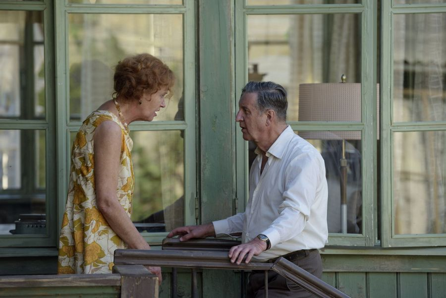 Леонид Ярмольник и Розанова сыграли супругов
