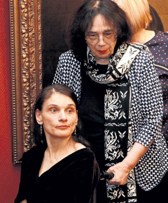 Мария с мамой. Сейчас женщине 52 года