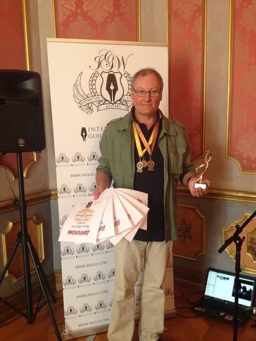 Михаил Стародуб - лауреат литературных премий, 2014 г.