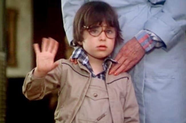 Серджио Сталлоне в возрасте 6 лет