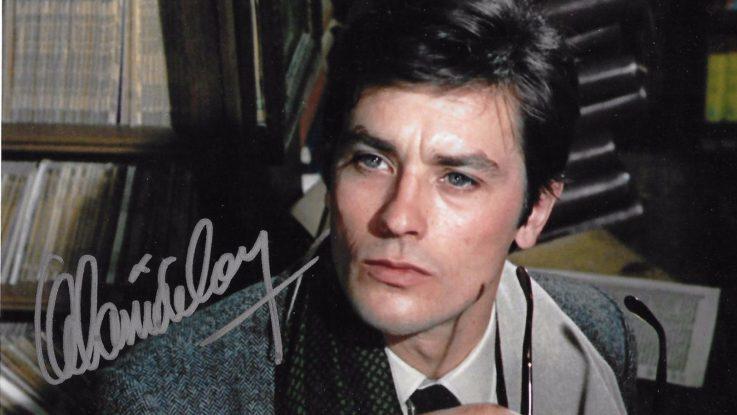 Ален Делон и его автограф