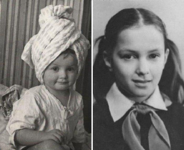 Мария Порошина в детстве и отрочестве
