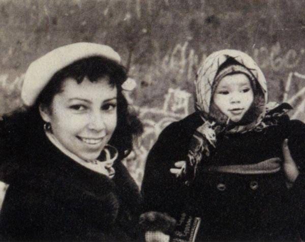 Ирина Ротова с дочерью Надей Баталовой