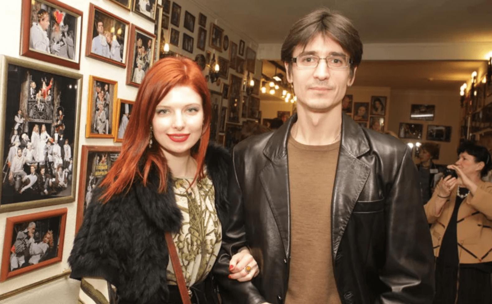 Эмилия Спивак и ее муж Эрнест Тимерханов