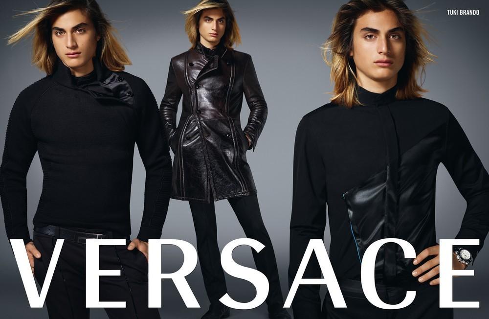 Туки Брандо для рекламной кампании модного дома
