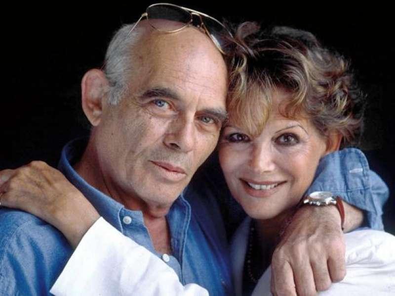Клаудия с мужем Паскуале Скуитьери (умер в 2017 г.)