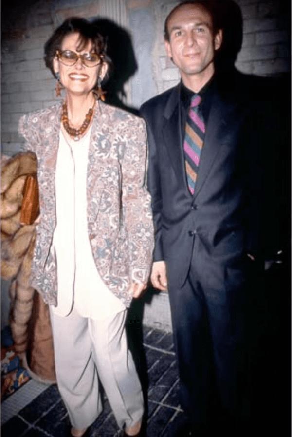 Клаудия Кардинале со взрослым сыном Патриком